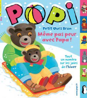 couverture Popi n°318, février 2013