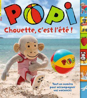 couverture Popi n°348, août 2015