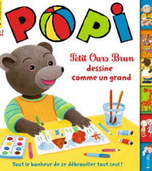 couverture Popi n°349, septembre 2015