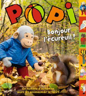 couverture du magazine Popi du mois d'octobre 2015, n°350