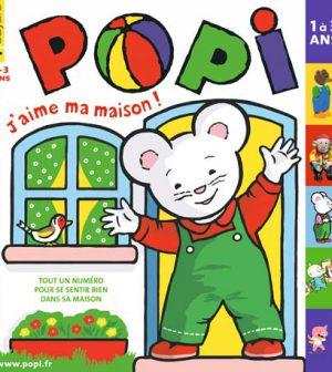 couverture Popi n°291, novembre 2010
