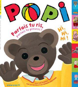 couverture Popi n°295, mars 2011