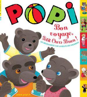 couverture Popi n°299, juillet 2011