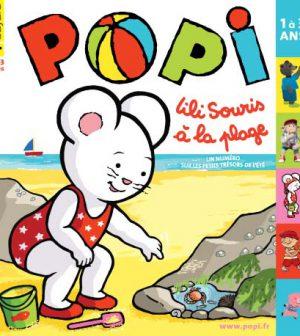 couverture Popi n°300, août 2011