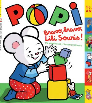 couverture Popi n°302, octobre 2011