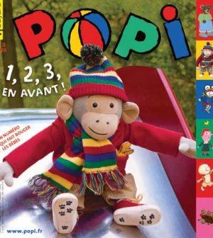 couverture Popi n°307, mars 2012