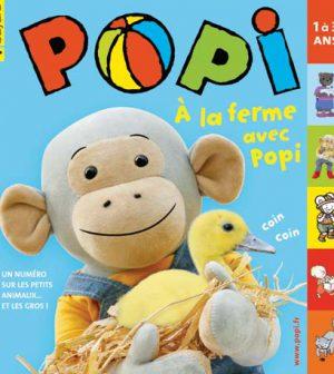 couverture Popi n°309, mai 2012