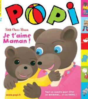 couverture Popi n°310, juin 2012