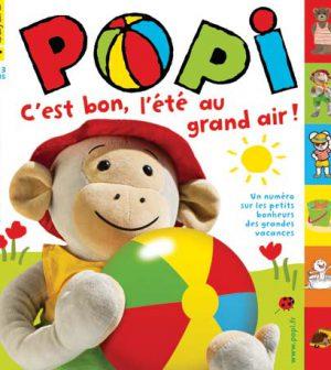 couverture Popi n°311, juillet 2012