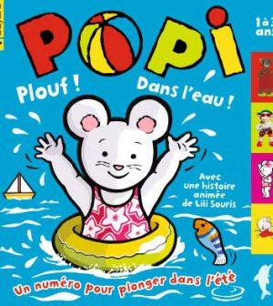 couverture Popi n°312, août 2012