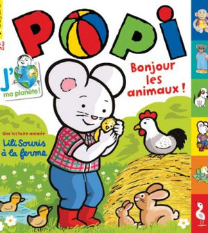 couverture Popi n°320, avril 2013