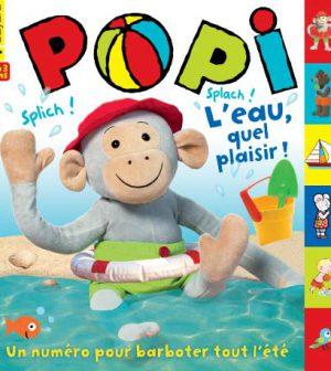 couverture Popi n°323, juillet 2013