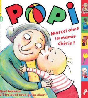 couverture Popi n°329, janvier 2014