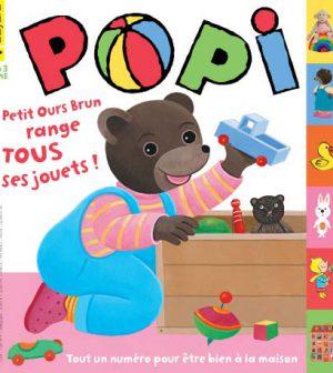 couverture Popi n°331, mars 2014