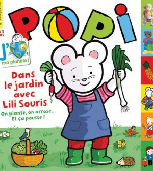 couverture Popi n°332, avril 2014