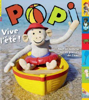 couverture Popi n°335, juillet 2014