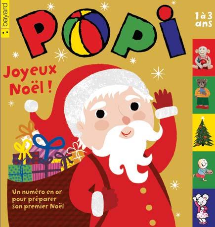 Joyeux Noel Petit Ours Brun.Sommaire De Popi N 340 Decembre 2014 Tout Un Numero Pour