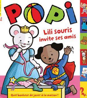 couverture Popi n°341, janvier 2015