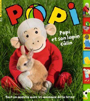 couverture Popi n°343, mars 2015