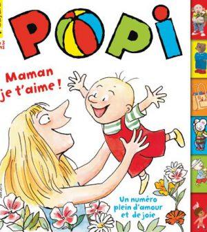 couverture Popi n°346, juin 2015