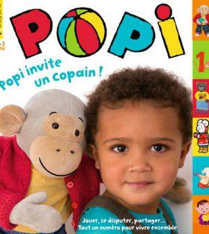 couverture Popi n°353, janvier 2016