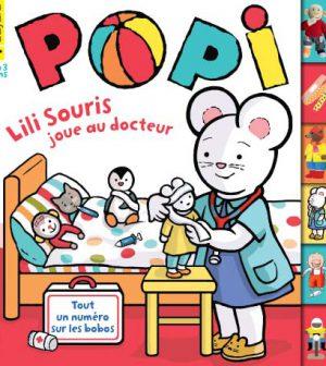 couverture Popi n°355, mars 2016
