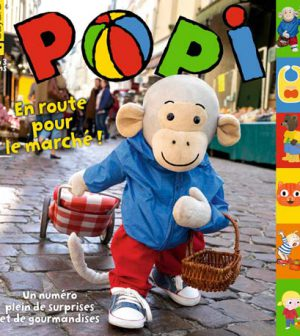 couverture Popi n°356, avril 2016