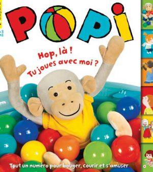 couverture Popi n°358, juin 2016