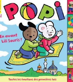 couverture Popi n°362, octobre 2016