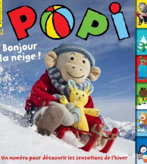 couverture Popi n°366, février 2017