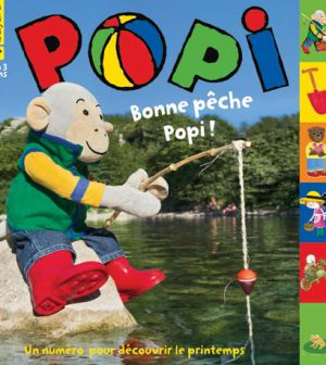 couverture Popi n°368, avril 2017