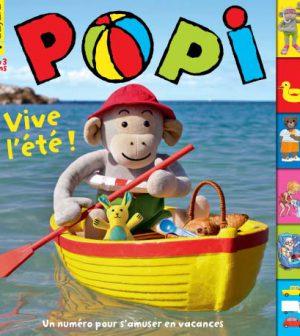 couverture Popi n°371, juillet 2017