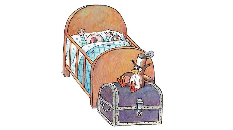 Cauchemars : comment apaiser bébé ? Illustration : Anne Wilsdorf