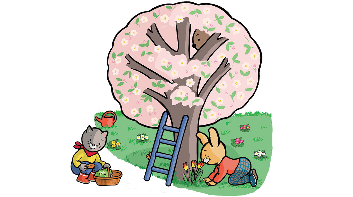 L'écologie, c'est aussi pour les petits ! Illustration : Anett Hardy