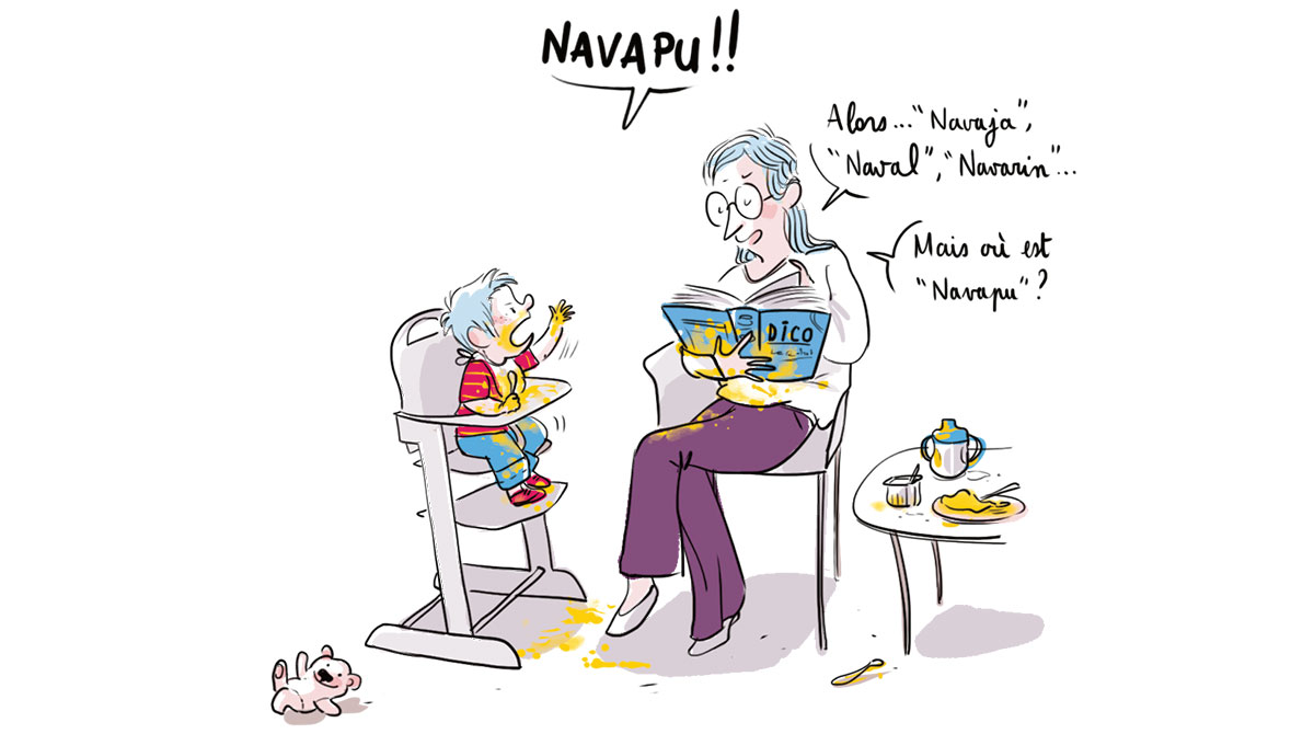 L'apprentissage du langage, quelle aventure ! Illustration : Zelda Zonk