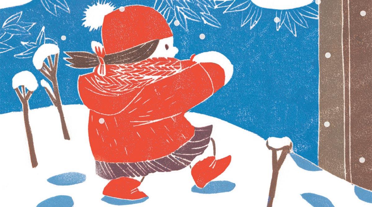 5 conseils pour bien profiter de la neige. Illustration : Pauline Kalioujny