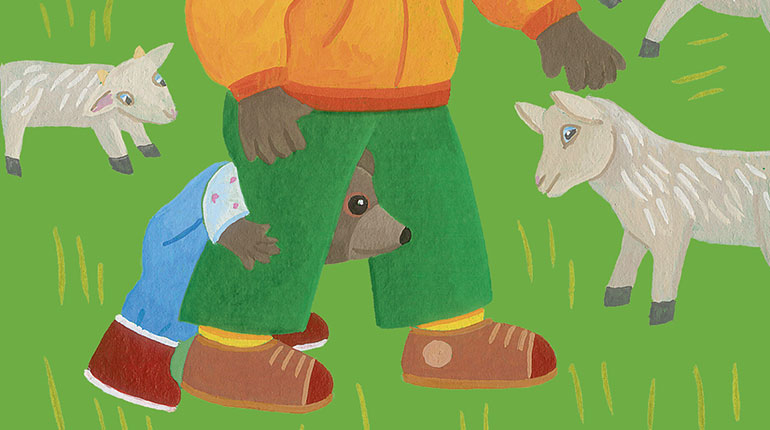 Peur des animaux : comment aider votre enfant à la dépasser ? Illustration : Danièle Bour