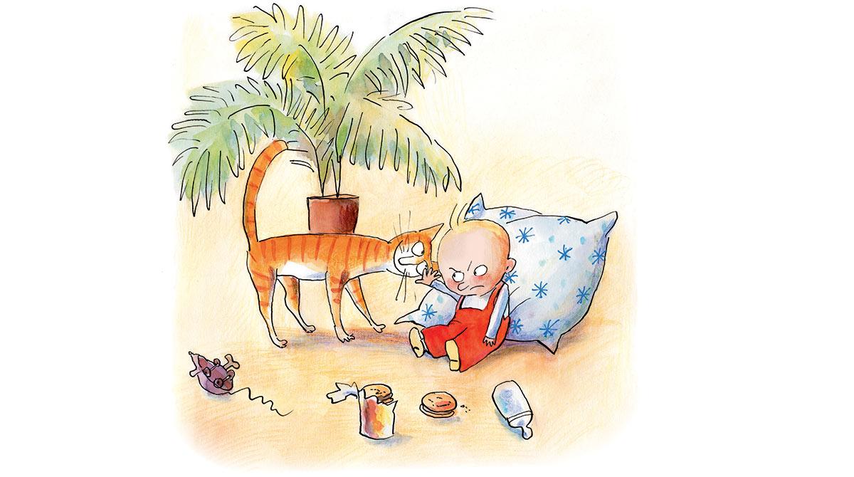 Pleurs de bébé : comment les comprendre et les calmer. Illustration : Anne Wilsdorf