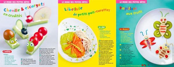 Téléchargez les 3 recettes pour préparer ce menu à votre tout-petit - Popi, juillet 2017 - Conception, réalisation et photos : Raphaële Vidaling.
