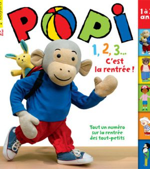 couverture Popi 373, septembre 2017