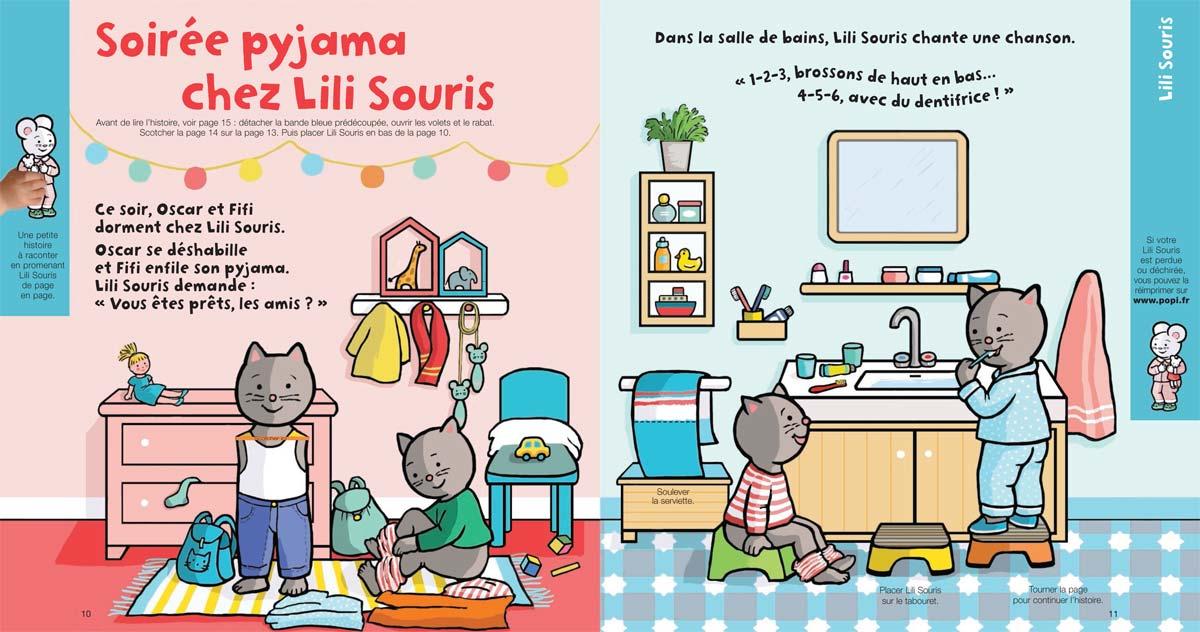 page Lili Souris octobre 2017