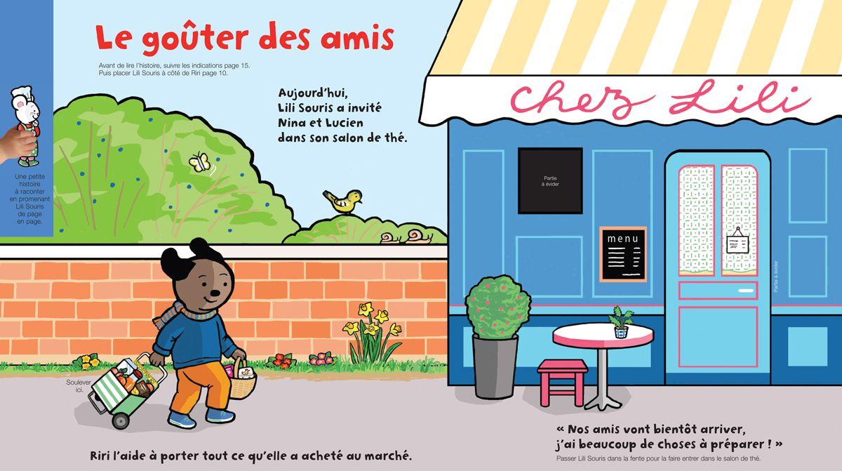 Téléchargez Lili Souris et le goûter des amis, Popi, n° 379, mars 2018 - Illustration : Anett Hardy
