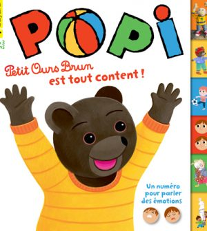 Couverture Popi n°380, avril 2018