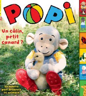Couverture Popi n°381, mai 2018