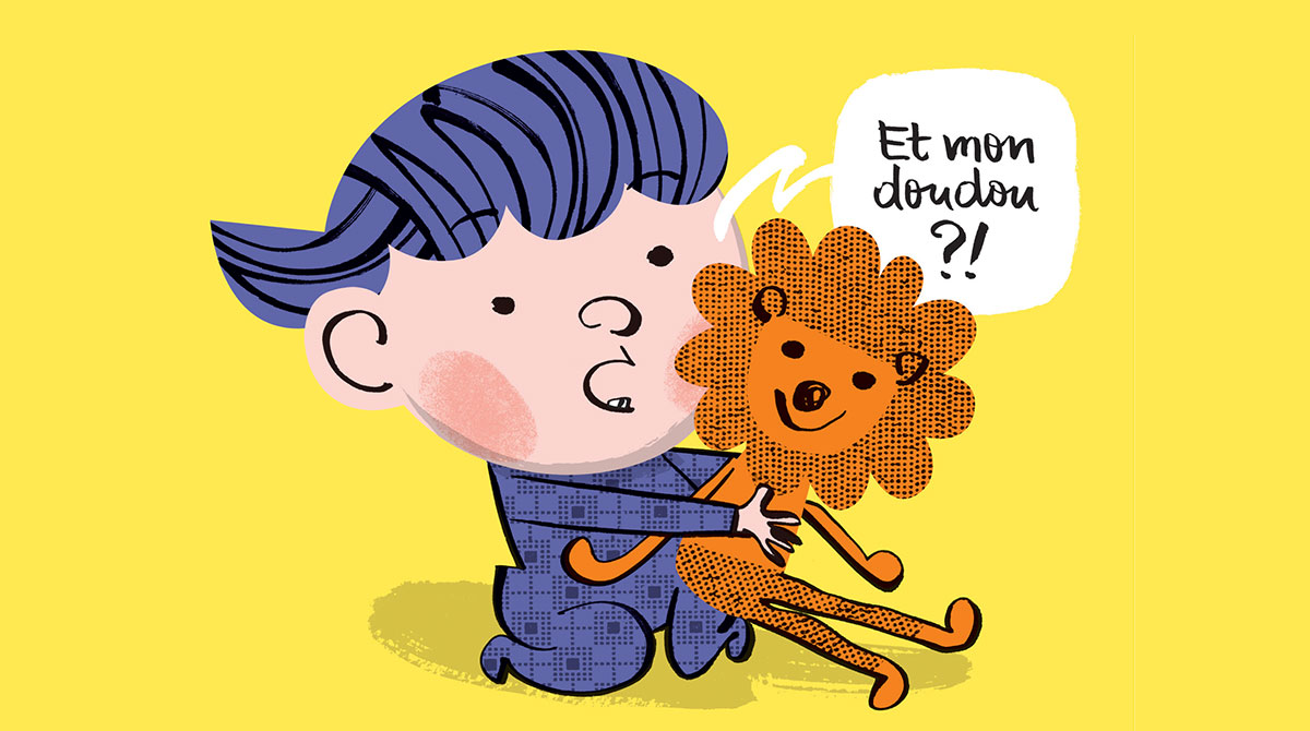 """Modes de garde : tout ce qu'il faut savoir"""", supplément pour les parents du magazine Popi n°385, septembre 2018. Texte : Anne Bideault. Illustrations : Jean-Louis Cornalba."""