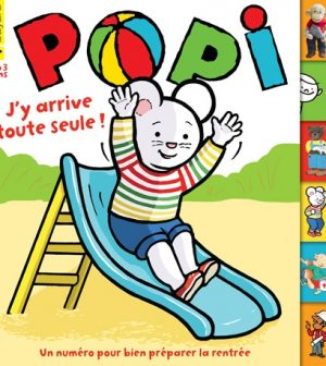 Couverture Popi n°385, septembre 2018