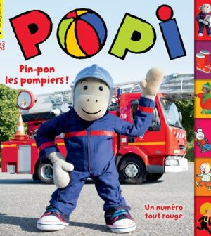 Couverture Popi n°389, janvier 2019