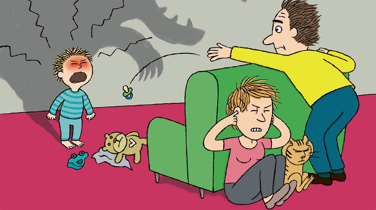 """""""Grosse colère : que faire ?"""", Popi n°389, supplément pour les parents, janvier 2019. Texte: Adrien Bail. Illustrations : Isabelle Assémat."""