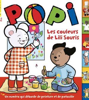 Couverture Popi n°391, mars 2019