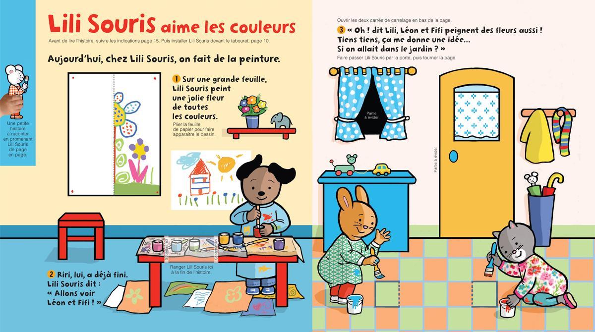 Imprimez la Lili Souris du mois de mars 2019 - Popi, n°391 - Illustration : Anett Hardy
